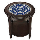Danbury Mint Uncirculated U.S. State Quarters End Table