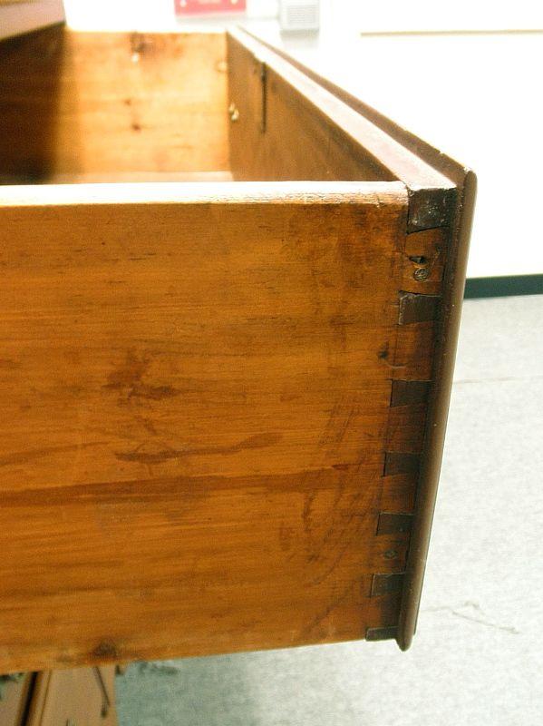 18th C Pennsylvania Walnut Chippendale Highboy Ball and Claw Feet