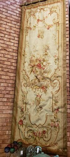 Matching Pair, Long 19th Century French Aubusson Tapestry