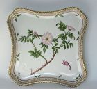 Royal Copenhagen Square Flora Danica Serving Dish Tray Rosa