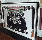Rare Yao Wedding Apron with French Coins w/ Provenance