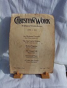 The Christian Work April 5, 1924