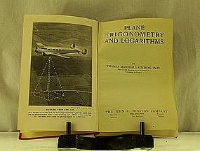 Plane Trigonometry and Logarithms by Simpson