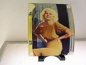 Jean Harlow MGM star in action