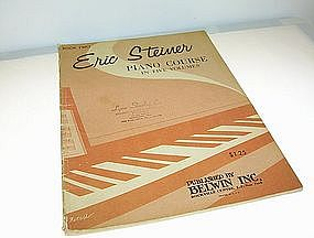 Eric Steiner Piano Course in Five Volumes