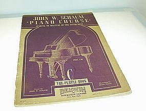 John W. Schaum Piano Course The Purple Book