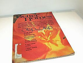 Better Homes and Gardens Magazine April 1972