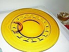 Amber Kings Crown Plate