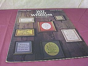 Leisure Arts Wit and Wisdom Leaflet 113
