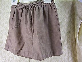 Girl Scout Brownie Size 10 Vintage Shorts