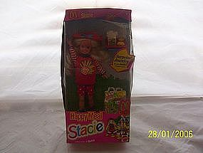 Stacie Happy Meal Doll Mattel 1993