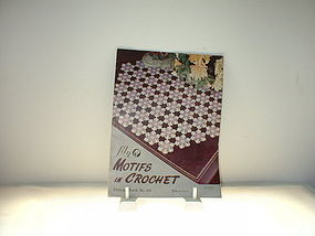 Lily Motifs in Crochet Design Book No. 68  lst  Ed 1953