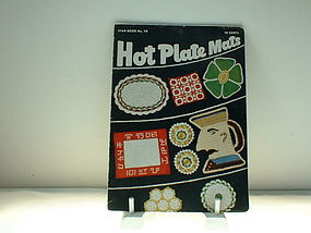 Hot Plate Mats Star Book No. 70