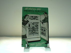 General Electric Phamplet Refrigerator freezer