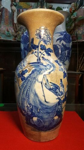 Chinese Ming Dynasty.vase of flowers