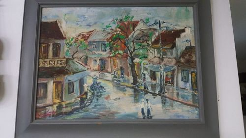 oil painting - vietnam