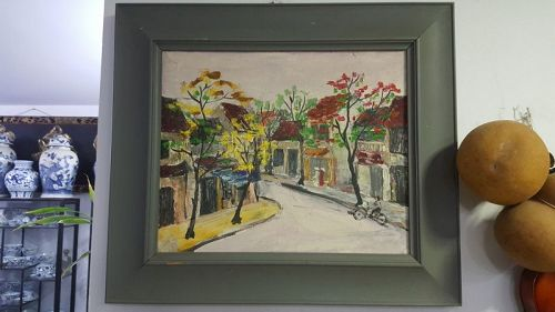 oil painting - vietnam