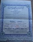 Egyptian Society for Chemical Industry Share Certificate - 1956