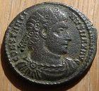 Constantine I (306 - 377 A.D.) Rome Mint. Ihnasiyah Hoard, Egypt 19 mm