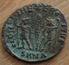 Constans (Augustus, 337-350 A.D.) Nicomedia. Ihnaisyah Hoard , Egypt