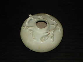 Rare Yuan dynasty qingbai dragon jar
