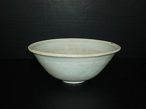 Fine Song dynasty qingbai conical flower bowl
