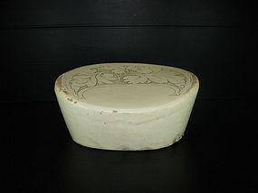 Rare Song Yuan dynasty Cizhou large pillow