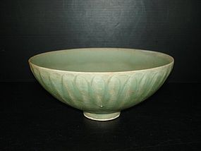 Song dynasty longquan celadon large bowl 20cm