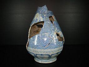 Rare sample of Yuan yuhuchun with horse motif