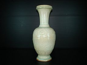 Yuan dynasty qingbai large vase 20cm