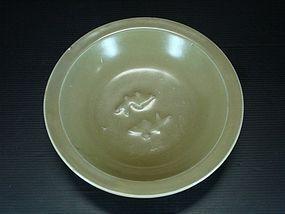 Song longquan celadon twin fish dish