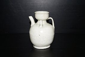 Rare Song Hutian qingbai cup head ewer