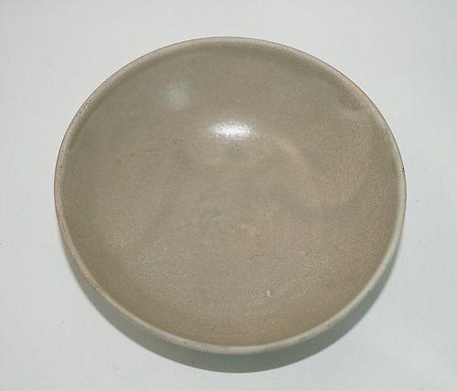 Rare Tang dynasty Yue ware bowl qith bi footring