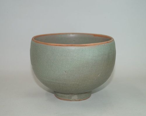 Rare Song dynasty longquan celadon large alms bowl