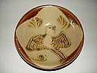 Very rare Tang dynasty changsha bowl with bird motif