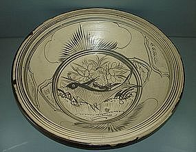 Magnificent Song dynasty Cizhou large basin (47 cm)