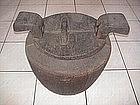 Batak round rumbi / umbung (rice container)