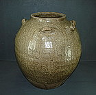 Tang dynasty Yue ware spouted big jar