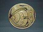 Rare Tang Changsha bowl with big fish motif