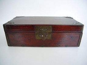 Rare Chinese Huanguali Scholar's Box