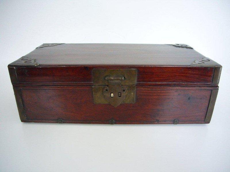 Rare Chinese Huanguali Scholar's Box
