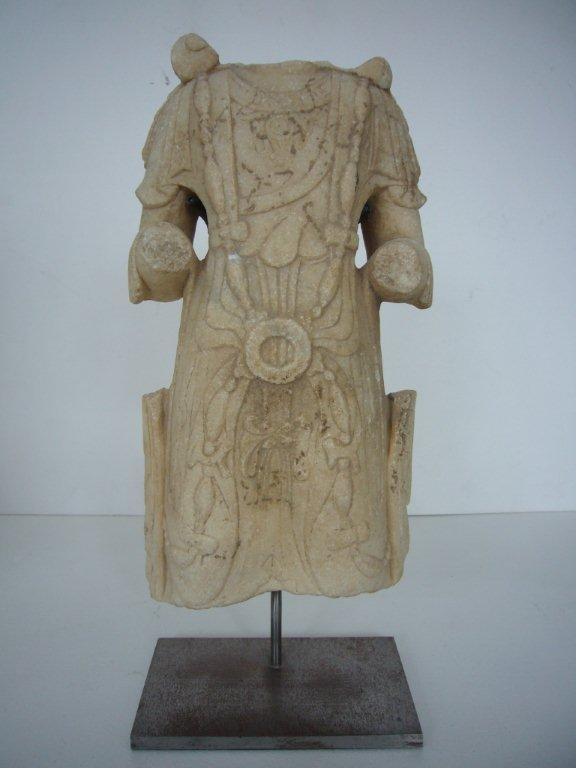 Marvellous Tang Dynasty Marble Torso