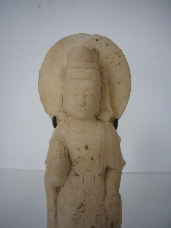 Tang Dynasty Marble Bodhisatva