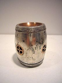 Chinese Silver Opium Box
