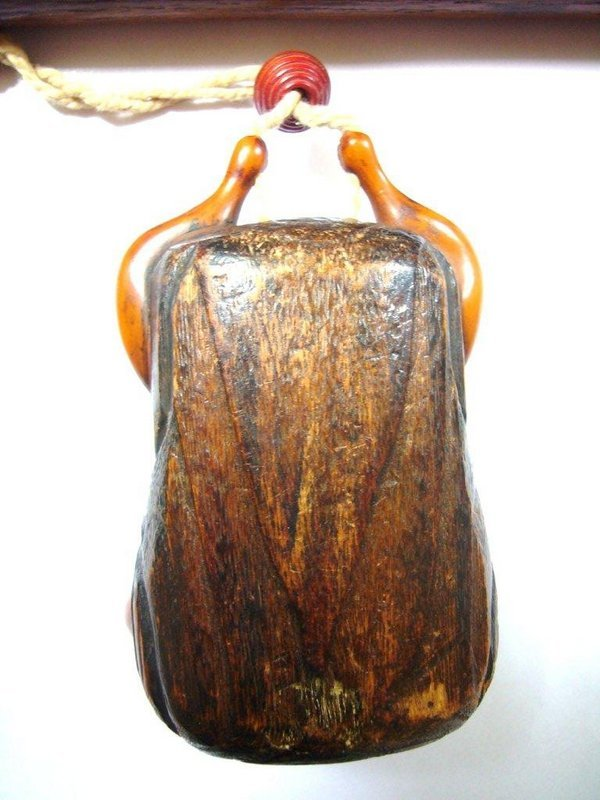 Japanese Pipe Case Kiserusutzu with Tobacco Pouch