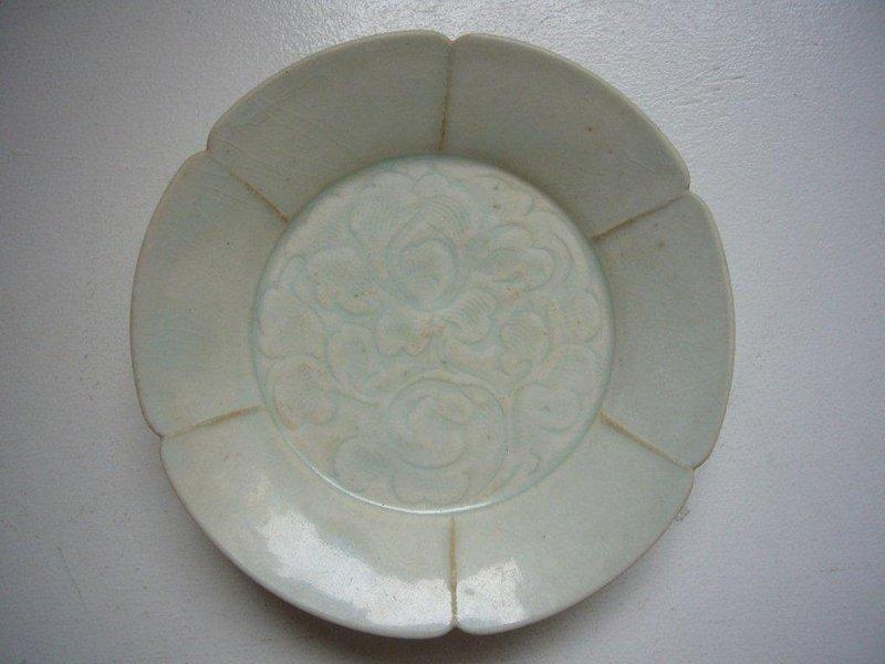 Rare Song Qingbai Plate