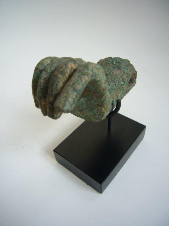 Cambodian Bronze Buddha Hands