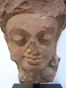 Indian Jain Stone Fragment 7th/8th Century