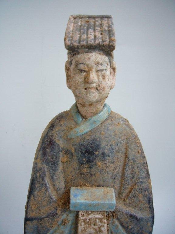 Large Ming Pottery Tomb Figures