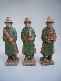 Ming Dynasty Pottery Tomb Figures
